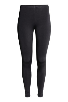 Leggings in jersey lucido