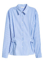 Cotton blouse - Blue/White/Striped - Ladies | H&M 2