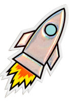 5-pack stickers - Rocket - Ladies | H&M CA 2