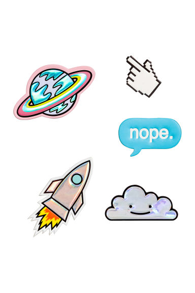5-pack stickers - Rocket - Ladies | H&M CA 1