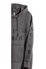 Hooded sweatshirt dress - Dark grey - Ladies | H&M 3