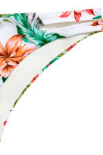 Bikini bottoms - White/Floral - Ladies | H&M CN 3