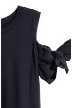 Jersey top - Dark blue - Ladies | H&M 3