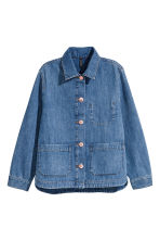 Denim jacket - Denim blue - Ladies | H&M GB 2