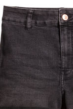 Shorts High waist - Dark grey denim - Ladies | H&M CA 3