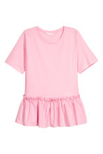 Flounced top - Pink - Ladies | H&M 2