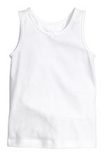 2-pack vest tops - Light pink - Kids | H&M 2