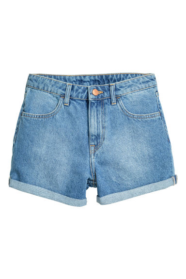 Shorts in denim - Blu denim - DONNA | H&M IT 1