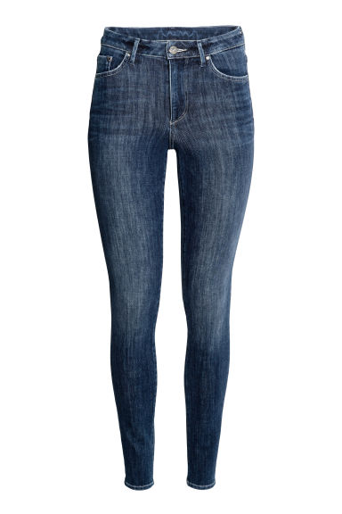 360° Shaping Skinny High Jeans - Deniminsininen - NAISET | H&M FI
