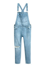 Denim dungarees - Light denim blue - Ladies | H&M 2