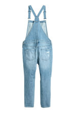Denim dungarees - Light denim blue - Ladies | H&M 3