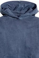 Hooded top - Navy blue - Men | H&M 3
