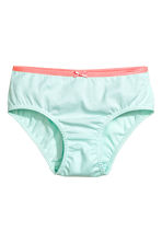 5-pack briefs - Mint green - Kids | H&M 3
