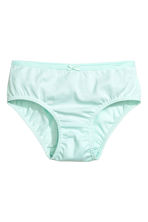 5-pack briefs - Mint green - Kids | H&M 4