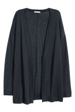 Cardigan in maglia fine  - Blu scuro - DONNA | H&M IT 2