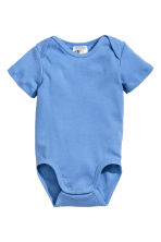 Lot de 6 bodies - Bleu - ENFANT | H&M FR 2