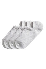 3-pack trainer socks - Grey - Ladies | H&M CN 1