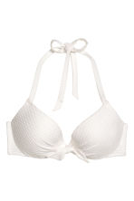 Padded underwired bikini top - White - Ladies | H&M 2