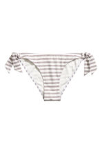 Bikini bottoms - Mole/White/Striped - Ladies | H&M 2
