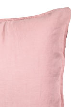 Washed linen pillowcase - Dusky pink - Home All | H&M CN 2