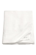 Washed linen tablecloth - White - Home All | H&M CN 1