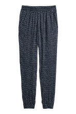 Harem pants - Dark blue/Spotted - Ladies | H&M 2
