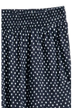 Harem pants - Dark blue/Spotted - Ladies | H&M 3
