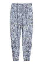 Harem pants - White/Paisley - Ladies | H&M 2