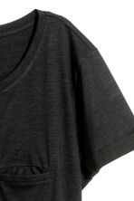 Jersey top - Black marl - Ladies | H&M 3