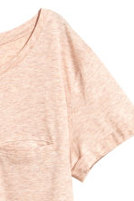 Jersey top - Powder pink marl - Ladies | H&M CN 3