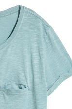 Jersey top - Light turquoise marl - Ladies | H&M GB 3