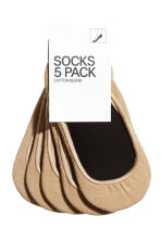 5-pack mini socks - Beige - Ladies | H&M 1