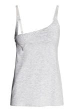 MAMA 2-pack nursing tops - Dark blue/Grey - Ladies | H&M 3