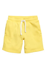 Sweatshirt shorts - Yellow - Kids | H&M CN 2