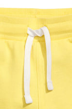 Sweatshirt shorts - Yellow - Kids | H&M CN 3