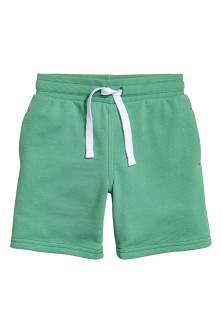 Short van joggingstof