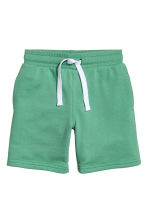 Sweatshirt shorts - Green - Kids | H&M 2
