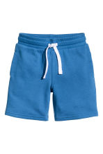 Sweatshirt shorts - Bright blue - Kids | H&M CN 2