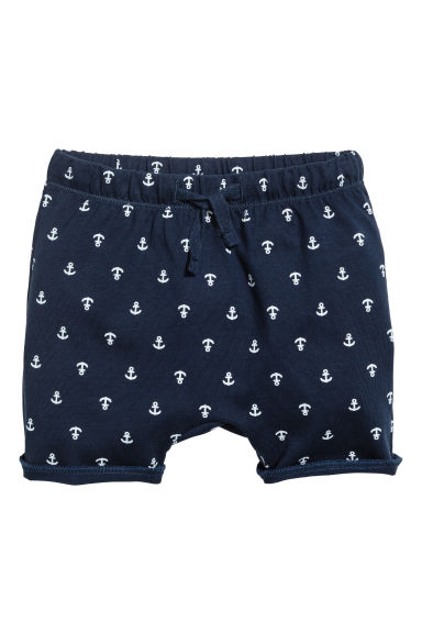 Jersey shorts - Dark blue/Anchor - Kids | H&M CN 1