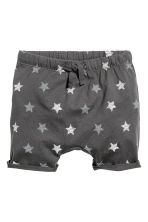 Jersey shorts - Dark grey/Stars - Kids | H&M 1