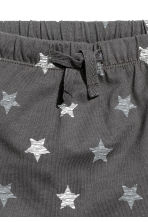 Jersey shorts - Dark grey/Stars - Kids | H&M CN 2