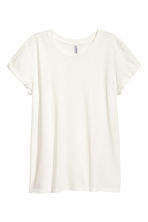 Jersey top - Natural white - Ladies | H&M 3