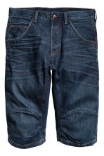 Denim shorts - Dark denim blue - Men | H&M 2