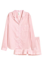 Cotton pyjamas - Pink/Patterned - Ladies | H&M CN 2