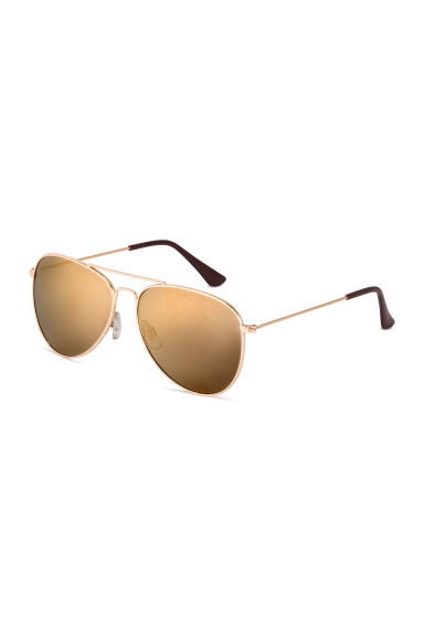Sunglasses - Gold -  | H&M CN