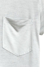 Jersey top - Light grey - Ladies | H&M CN 3
