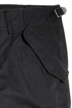 Cargo trousers - Black - Men | H&M CN 3