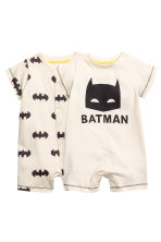 Lot de 2 pyjamas - Écru/Batman -  | H&M FR 1