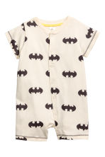 2-pack all-in-one pyjamas - Natural white/Batman - Kids | H&M CN 2