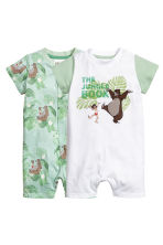 2-pack all-in-one pyjamas - White/The Jungle Book - Kids | H&M 1